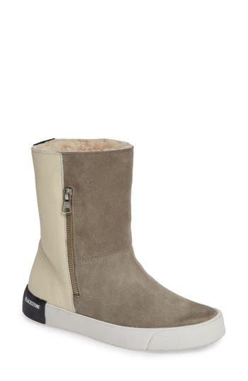 Blackstone Ql40 Genuine Shearling Lined Boot, Grey