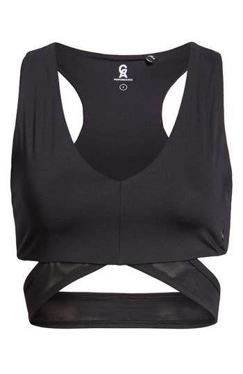 Plus Size Good American Lace Sports Bra