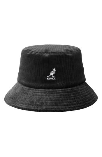 Corduroy Bucket Hat - Black