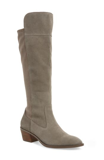 Sole Society Noamie Knee High Boot, Grey