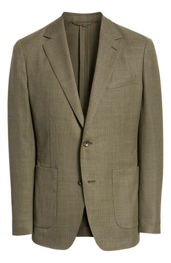 BONOBOS Slim Fit Unconstructed Sport Coat in Olive