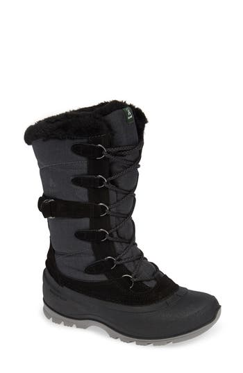 Kamik Snovalley2 Waterproof Thinsulate-Insulated Snow Boot, Black