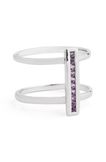 Women's Anna Sheffield 'Licol' Light Amethyst Bar Ring