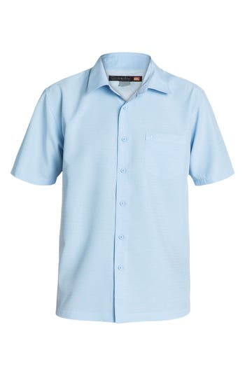Men's Quiksilver Waterman Collection 'Centinela 4' Short Sleeve Sport Shirt
