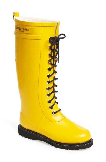 Ilse Jacobsen Hornbaek Rubber Boot, Yellow