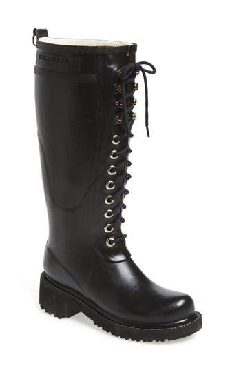 Ilse Jacobsen Waterproof Lace-Up Snow/rain Boot