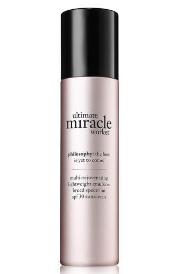 Philosophy 'Ultimate Miracle Worker' Multi-Rejuvenating Lightweight Emulsion Broad Spectrum Spf 30 Sunscreen