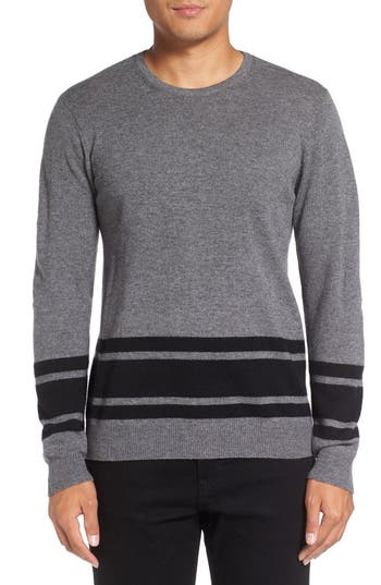 Men's Michael Stars Stripe Wool Blend Sweater