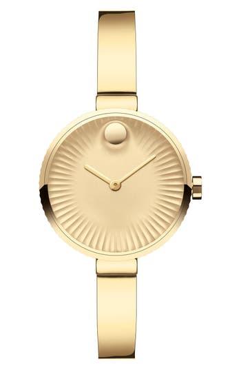 Women's Movado 'Edge' Bracelet Watch, 28Mm