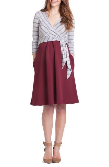 Women's Lilac Clothing Abby Maternity/nursing Dress, Size X-Small - Grey