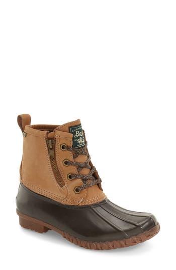 Women's G.h. Bass & Co. Danielle Waterproof Duck Boot, Size 11 M - Brown