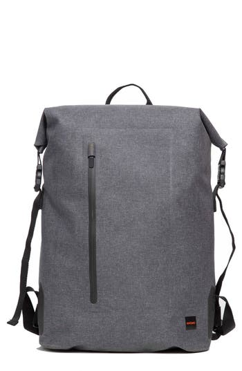 Knomo London Thames Cromwell Roll Top Backpack - Grey