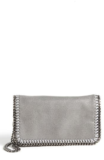 Stella Mccartney 'Falabella - Shaggy Deer' Faux Leather Crossbody Bag - Blue