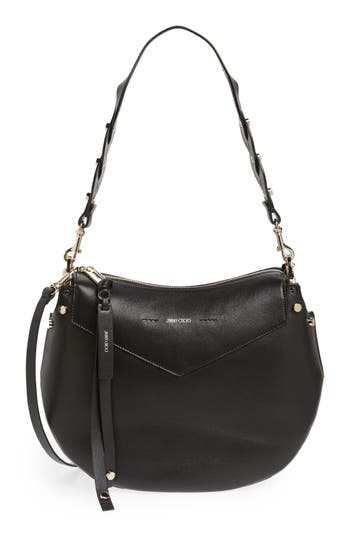 Jimmy Choo Artie Nappa Leather Hobo Bag -
