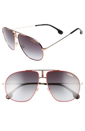 Carrera Bound 62Mm Sunglasses - Red Gold