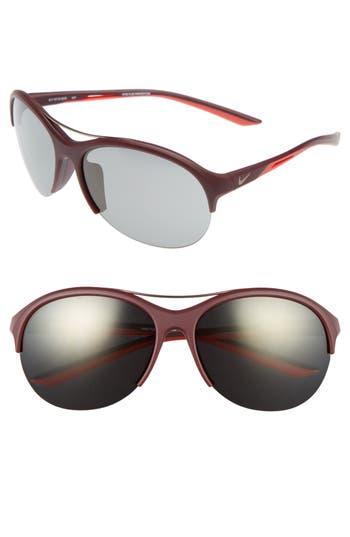 Nike Flex Momentum 6m Sunglasses - Matte Night Maroon