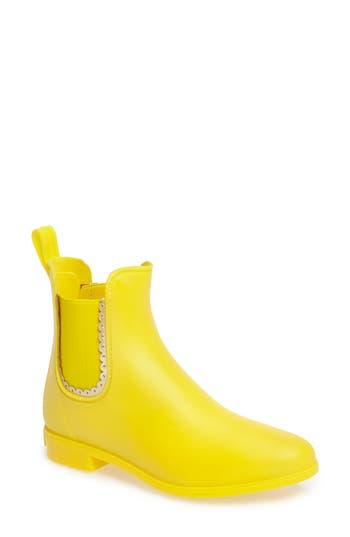 Jack Rogers Sallie Chelsea Rain Bootie, Yellow