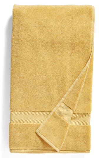 Nordstrom At Home Hydrocotton Bath Sheet, Size One Size - Yellow