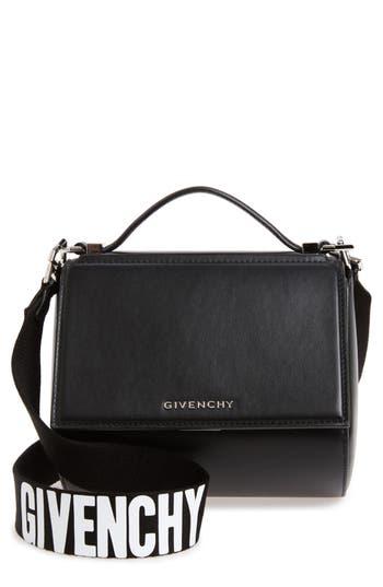 Givenchy Mini Pandora Box Leather Shoulder Bag -