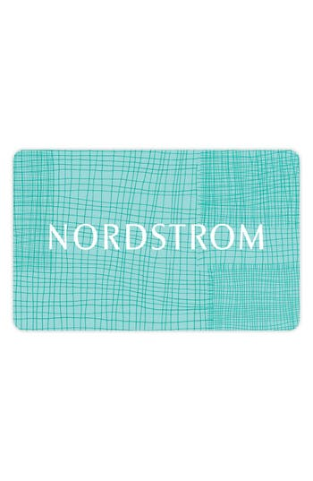 Nordstrom Woven Gift Card $25