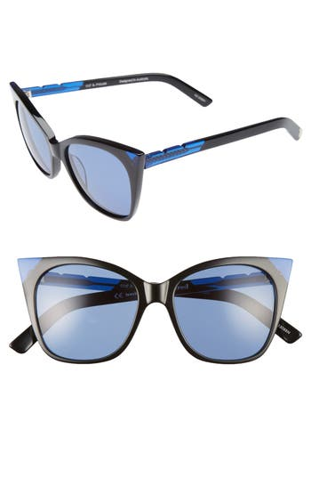 Women's Pared Cat & Mouse 51Mm Cat Eye Sunglasses -