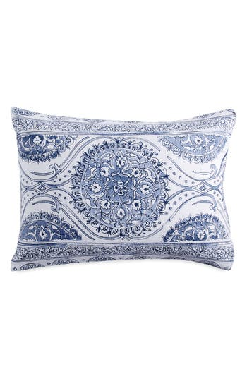 Peri Home Matelasse Medallion Sham, Size King - Blue
