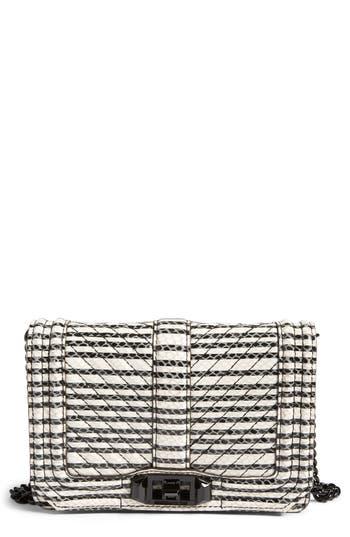 Rebecca Minkoff Small Love Leather Crossbody Bag -