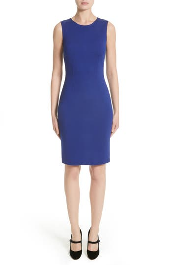 Women's St. John Collection Milano Knit Sheath Dress