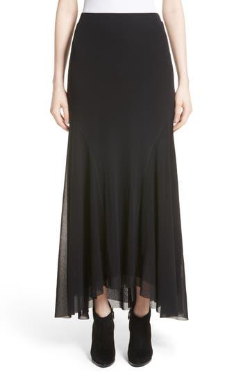 Women's Fuzzi Tulle High/low Maxi Skirt
