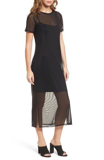 Women's Trouve Mesh Midi Dress