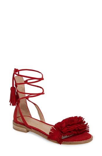 Pelle Moda Harah Sandal- Red