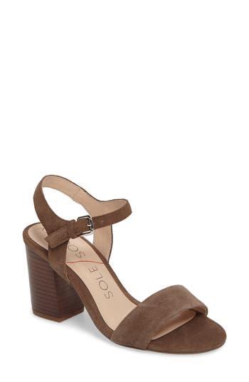 Women's Sole Society 'Linny' Ankle Strap Sandal