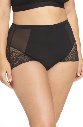 Plus Size Women's Spanx Spotlight On Lace Briefs