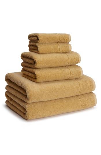 Kassatex Kyoto Hand Towel, Size One Size - Yellow