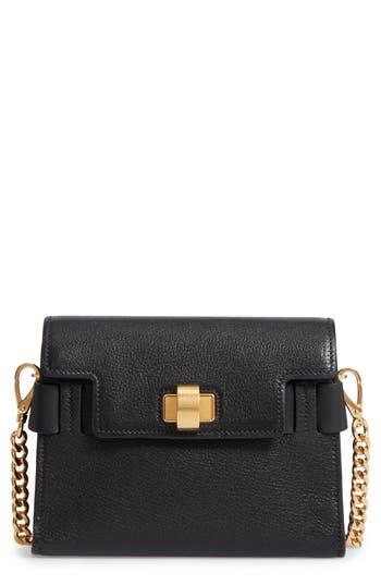 Miu Miu Madras Leather Crossbody Bag - Black