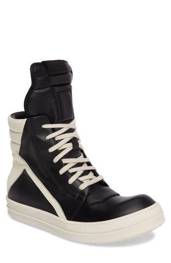Men's Rick Owens 'Geobasket' High Top Sneaker