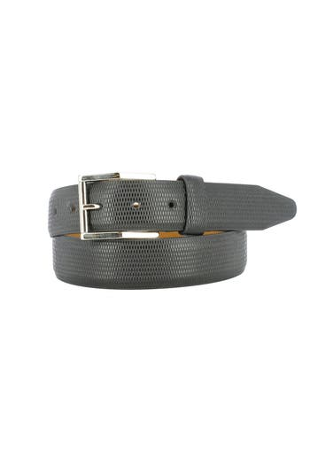 Remo Tulliani Gio Leather Belt, Black