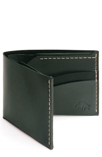 Ezra Arthur No. 6 Leather Wallet - Green