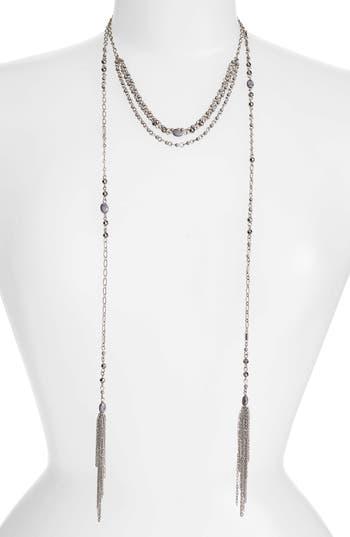 Women's Treasure & Bond Multistrand Station Necklace