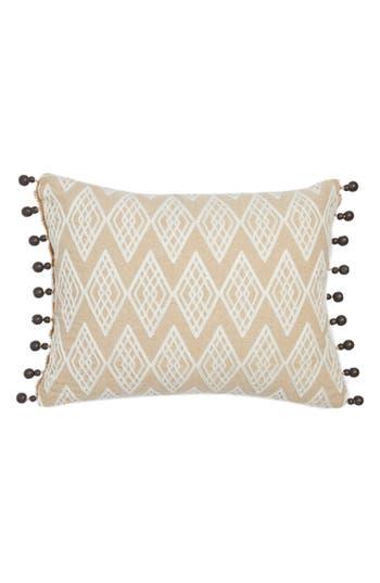 Levtex Zander Beaded Pillow, Size One Size - Beige