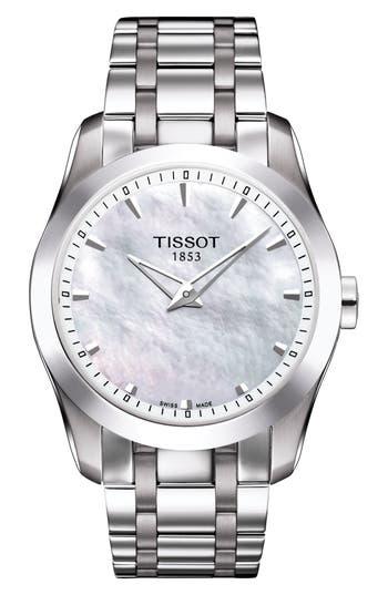 Women's Tissot Couturier Bracelet Watch, 33Mm