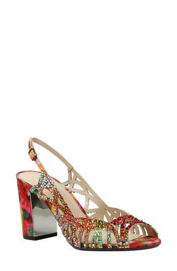 Women's J. Reneé Tahira Embellished Cutout Sandal
