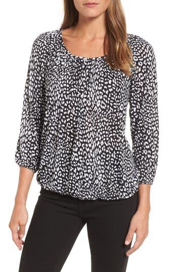 Women's Michael Michael Kors Cheetah Print Peasant Top