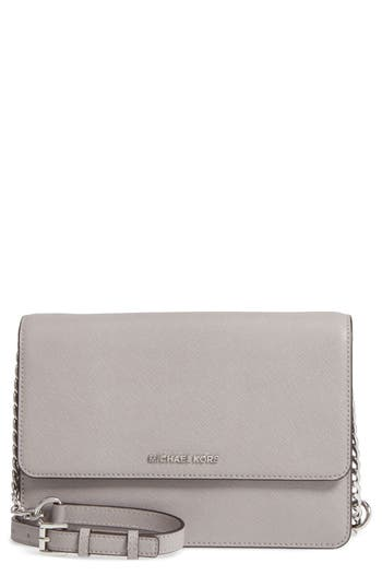 Michael Michael Kors Large Daniela Leather Crossbody Bag -
