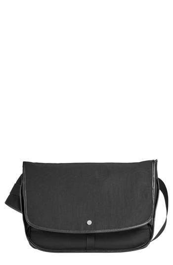 Men's Skagen Mikael Messenger Bag - Black