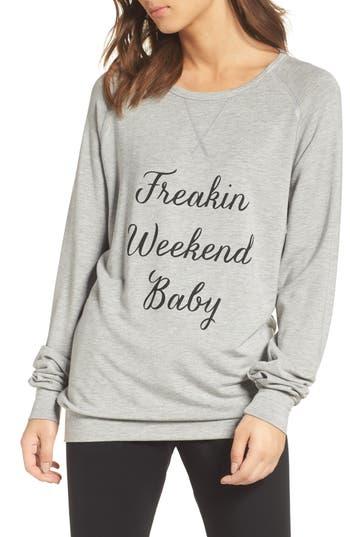 Women's The Laundry Room Freakin' Weekend Cozy Lounge Sweatshirt