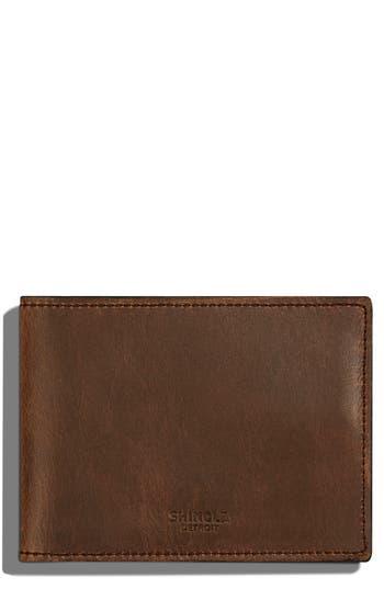 Shinola Leather Wallet - Green