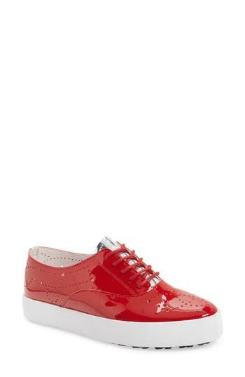 Women's Blackstone Nl41 Sneaker, Size 36 EU - Red