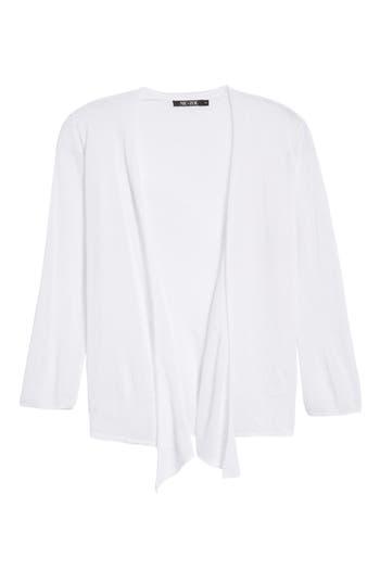 Petite Women's Nic+Zoe 4-Way Convertible Three Quarter Sleeve Cardigan