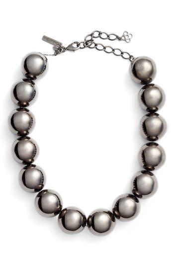 Women's Oscar De La Renta Bold Beaded Collar Necklace